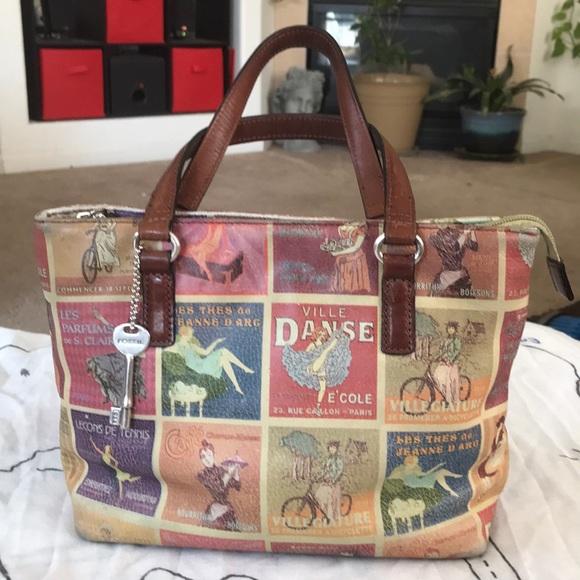 Fossil Handbags - Fossil Purse Vintage Style